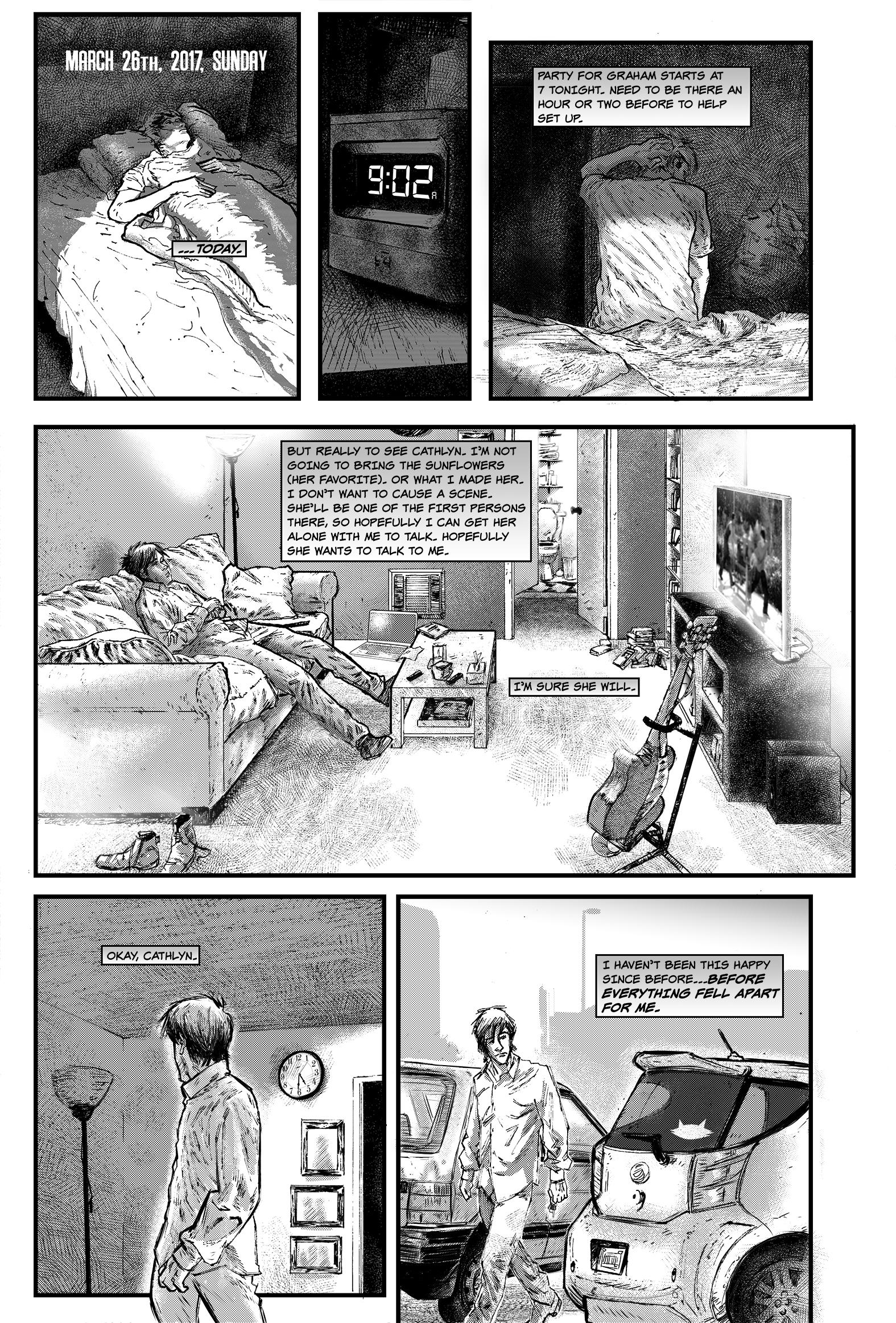 """SEASONS #1, """"I Won't"""" - Page 11"""