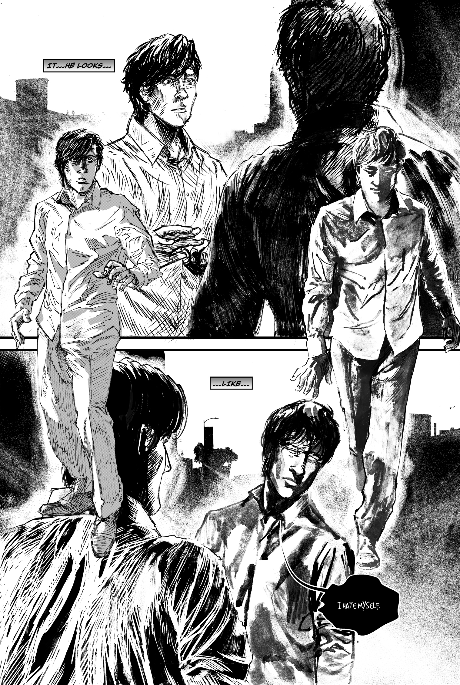 """SEASONS #1, """"I Won't"""" - Page 19"""