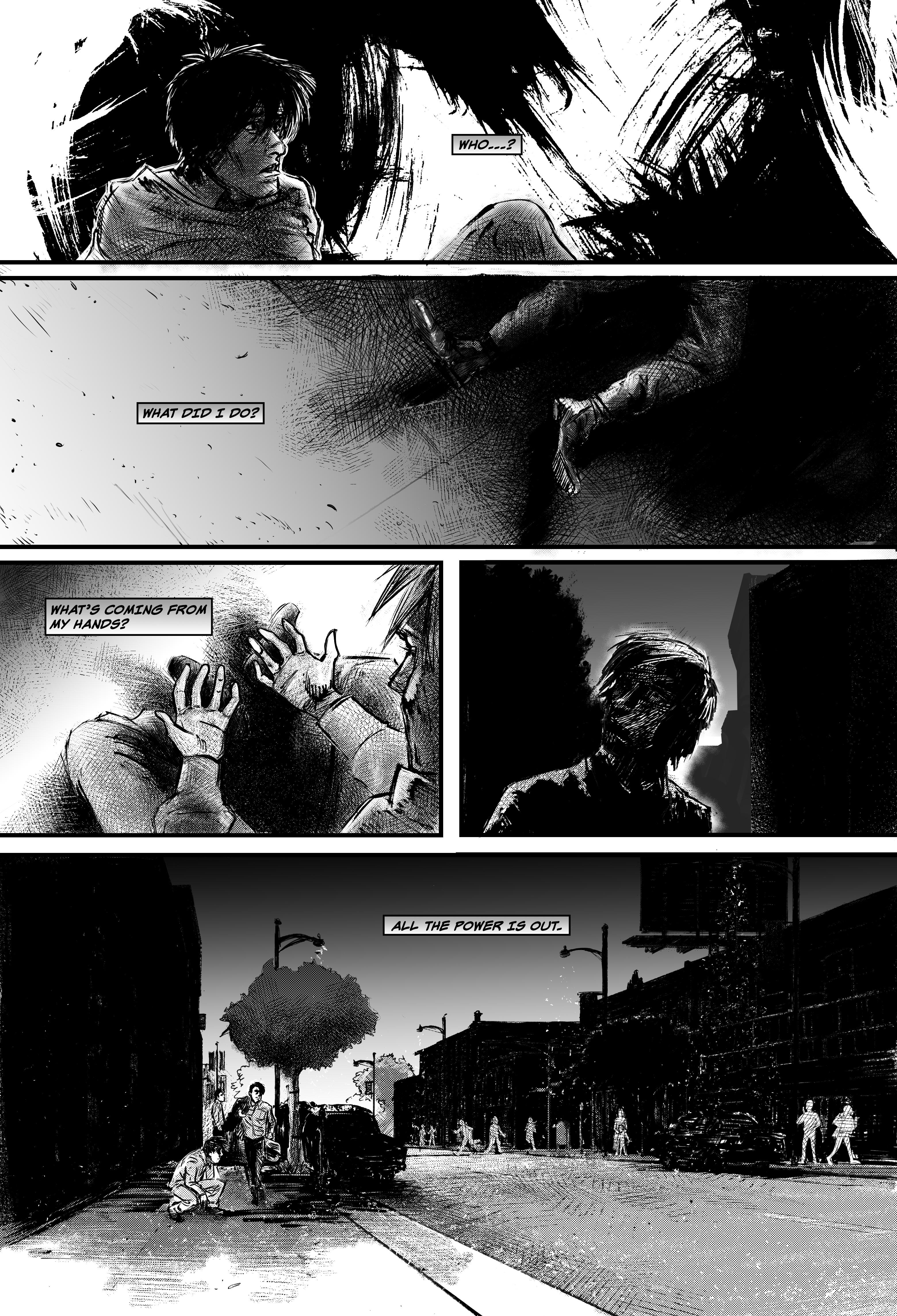 """SEASONS #1, """"I Won't"""" - Page 22"""