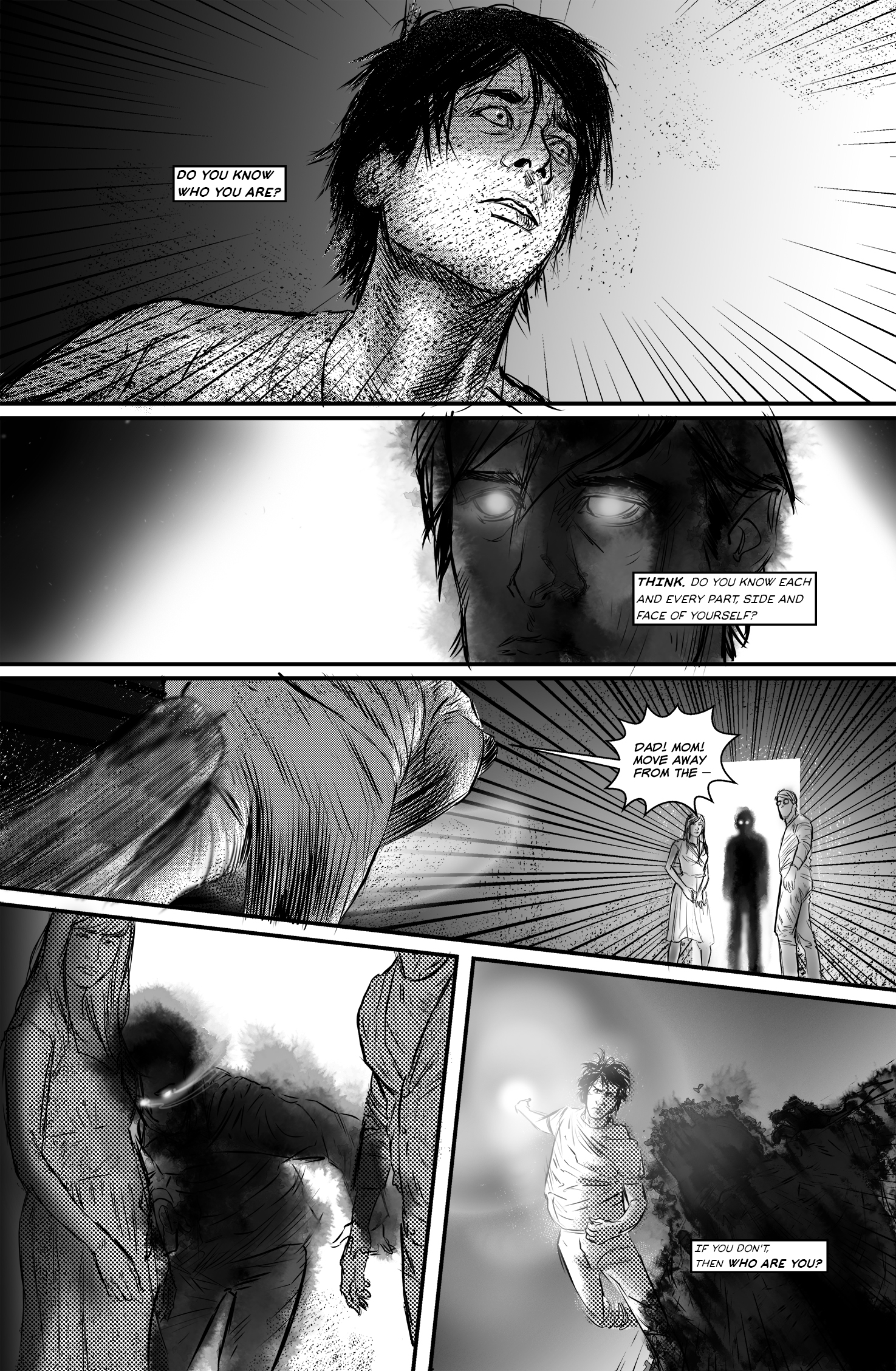 "SEASONS #4, ""I Will"" - Page 1"