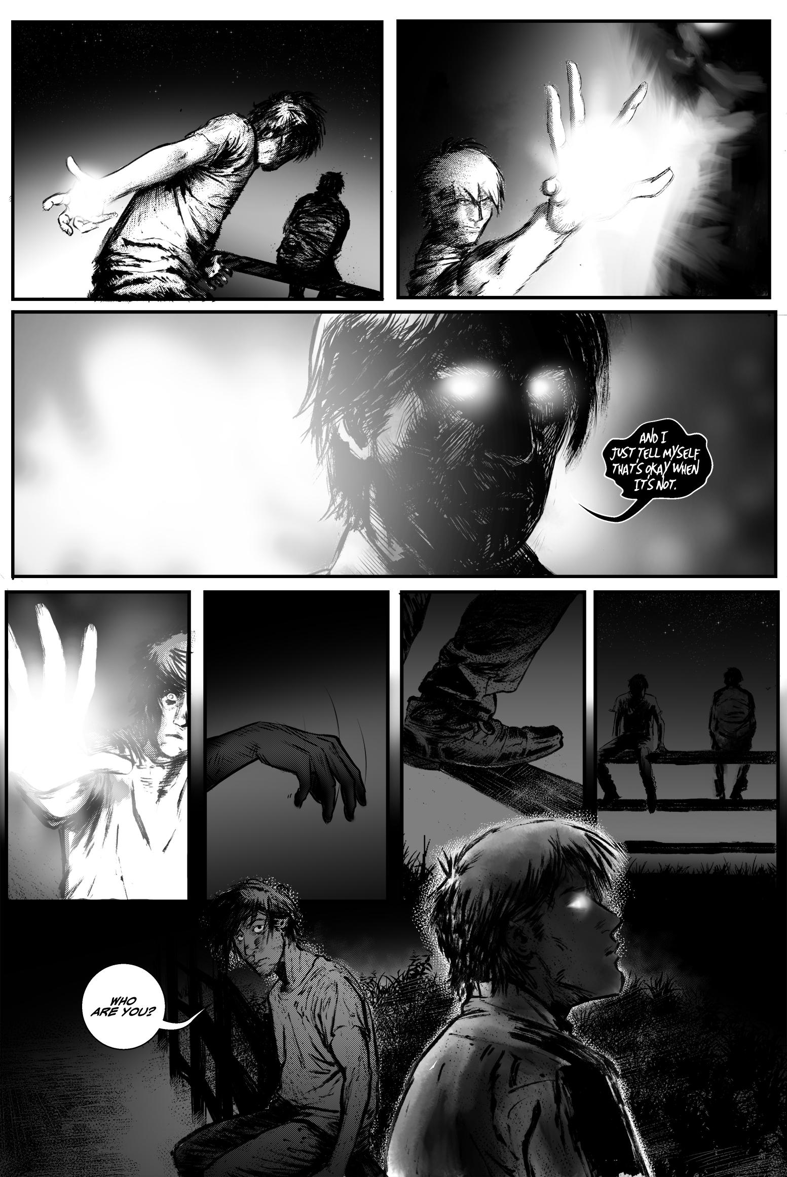 "SEASONS #4, ""I Will"" - Page 9"