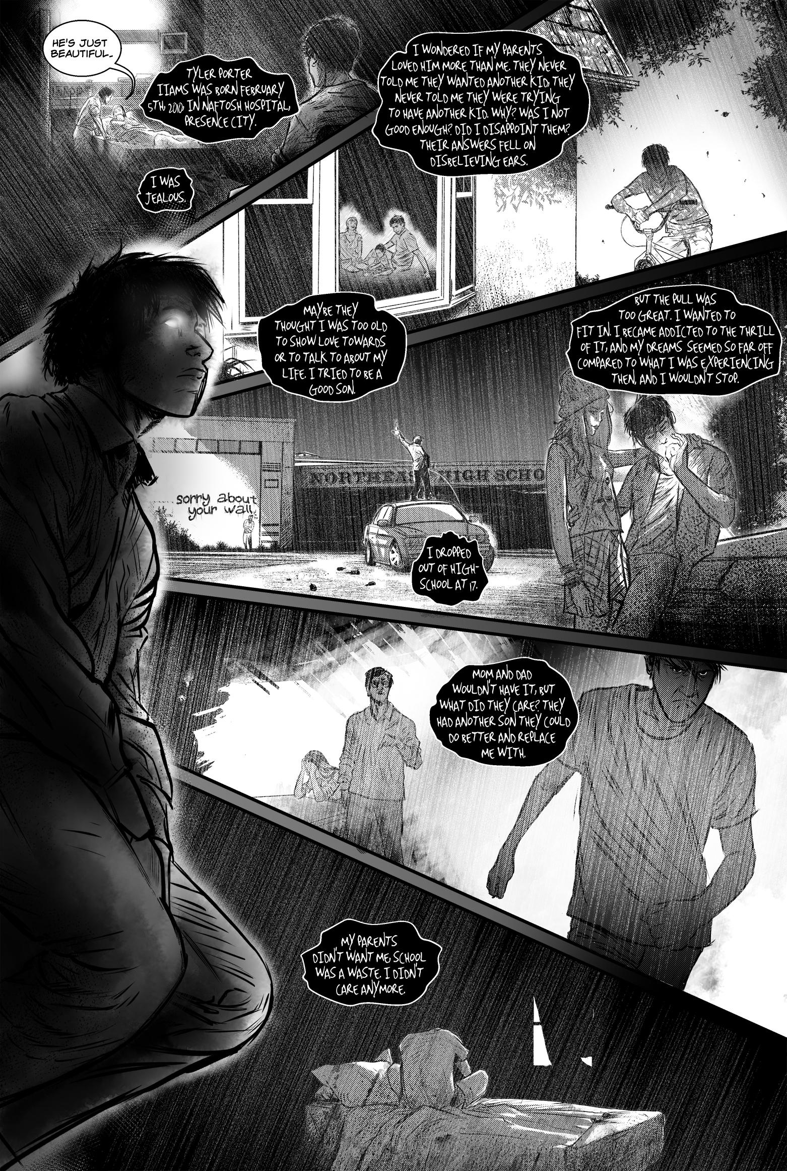"SEASONS #4, ""I Will"" - Page 11"