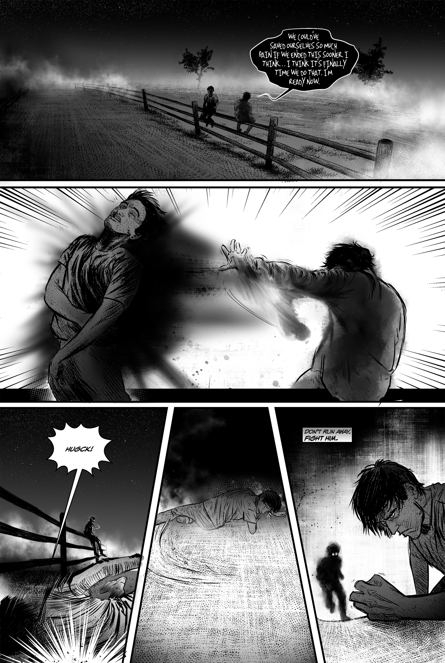 "SEASONS #4, ""I Will"" - Page 14"